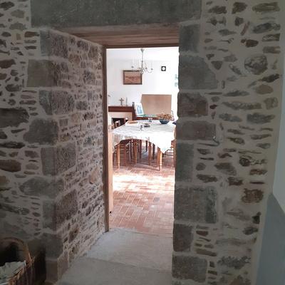 Percement d''un mur porteur pierre- Trigavou -22 - Côtes d''Armor