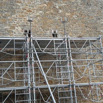 Réparation d''un pignon de maison - Saint-Malo