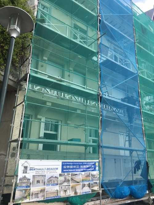 Rénovation de façade à Dinard côté Mer img1632