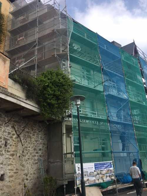 Rénovation de façade à Dinard côté Mer img1633