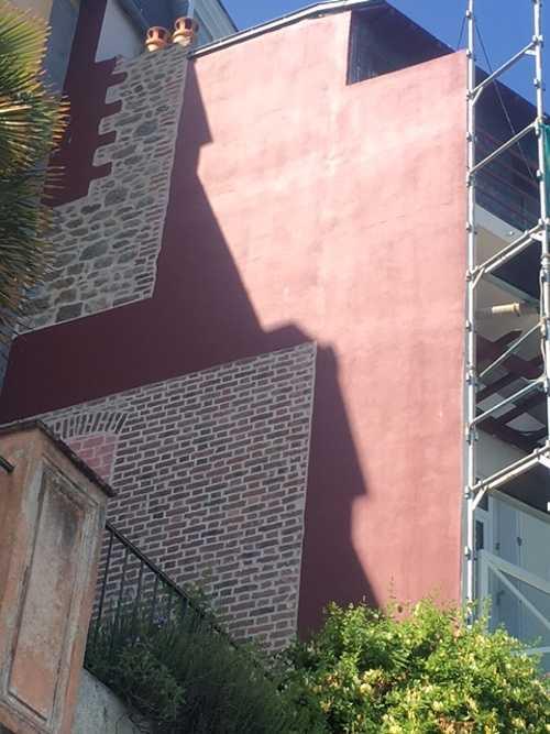 Rénovation de façade à Dinard côté Mer img1686