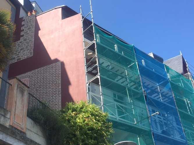 Rénovation de façade à Dinard côté Mer 0