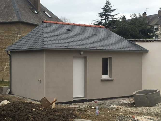 Extension de garage et de salon - Dinard img1286
