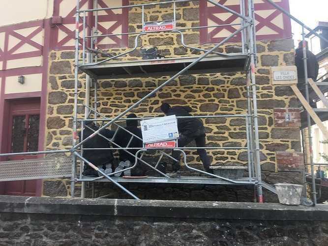 Rénovation maison : joints à la chaux - Saint Malo img1482