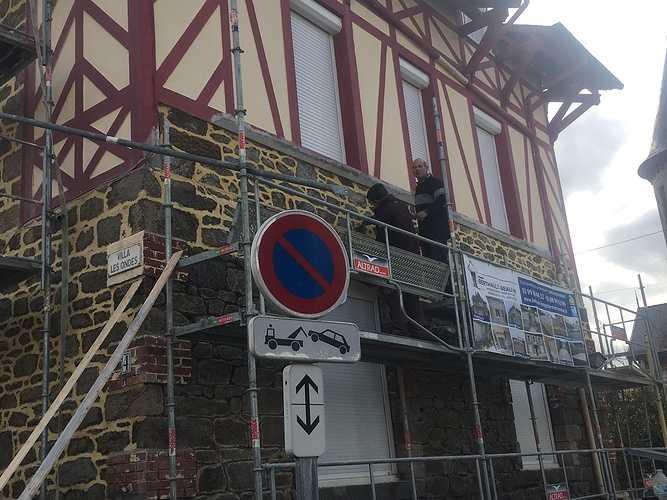 Rénovation maison : joints à la chaux - Saint Malo img1483