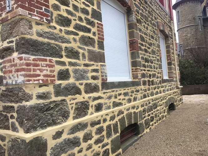 Rénovation maison : joints à la chaux - Saint Malo img1517